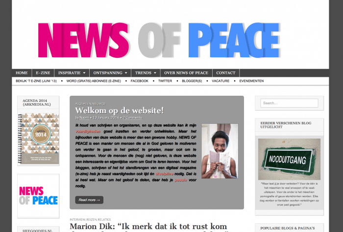 news of peace