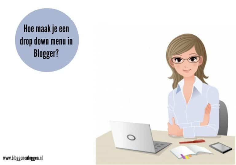 Een dropdown menu maken in Blogger