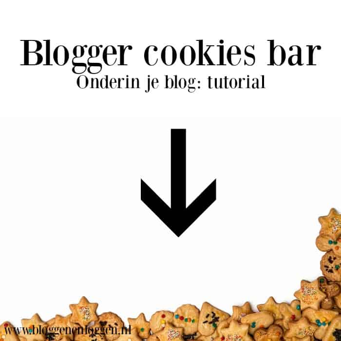 blogger cookies bar