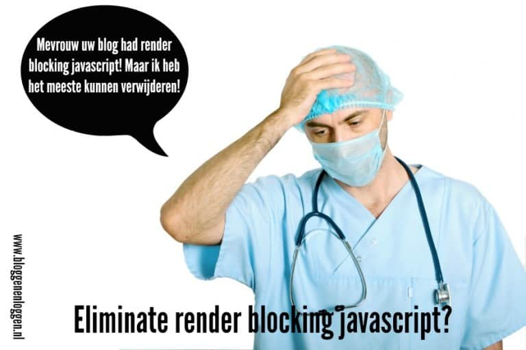 Eliminate render blocking javascript?