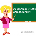 Hoe maak je h-tags in een post?