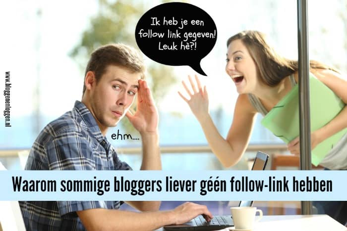 Hoe maak je links in je blogroll no follow?