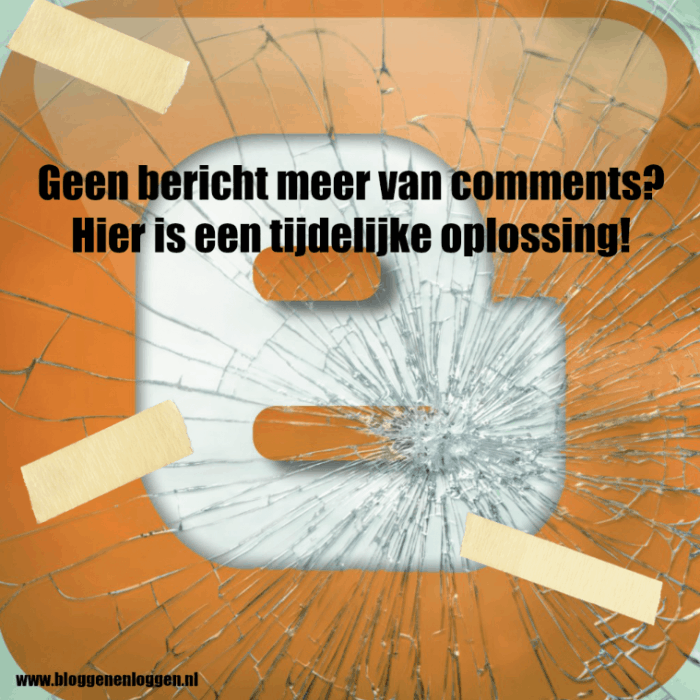 Blogger reactie notificatie
