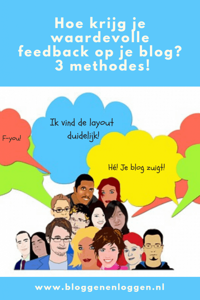 Feedback op je blog