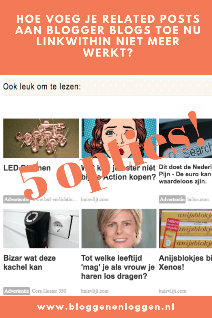 related posts op Blogger
