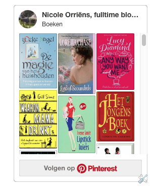 Pinterest op je blogger blog
