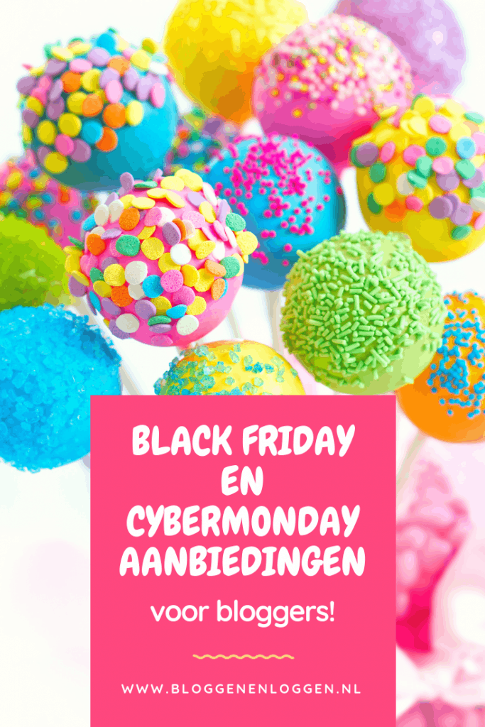 Black Friday en Cybermonday aanbiedingen voor bloggers