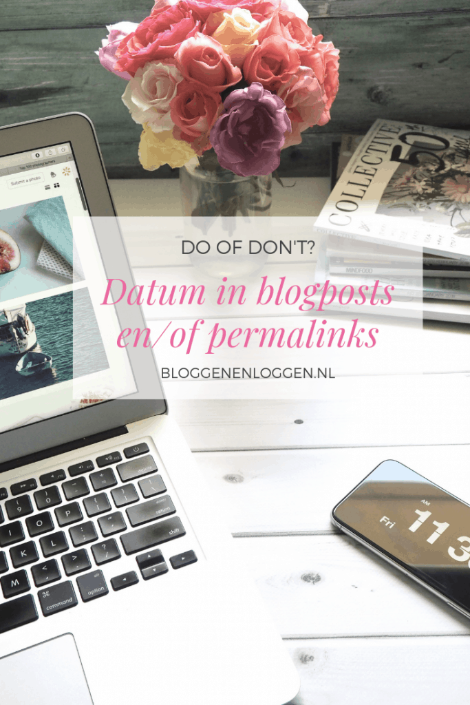 Datum in blogposts en permalinks