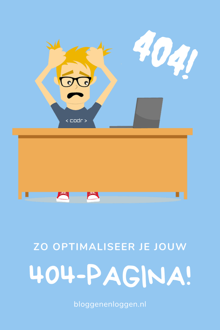 404-pagina: zo optimaliseer je de jouwe!