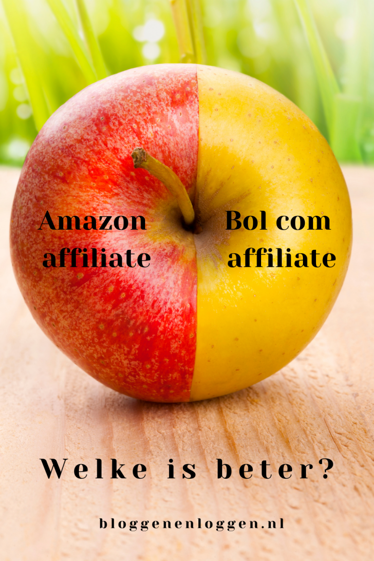 Amazon affiliate Nederland versus Bol com affiliate